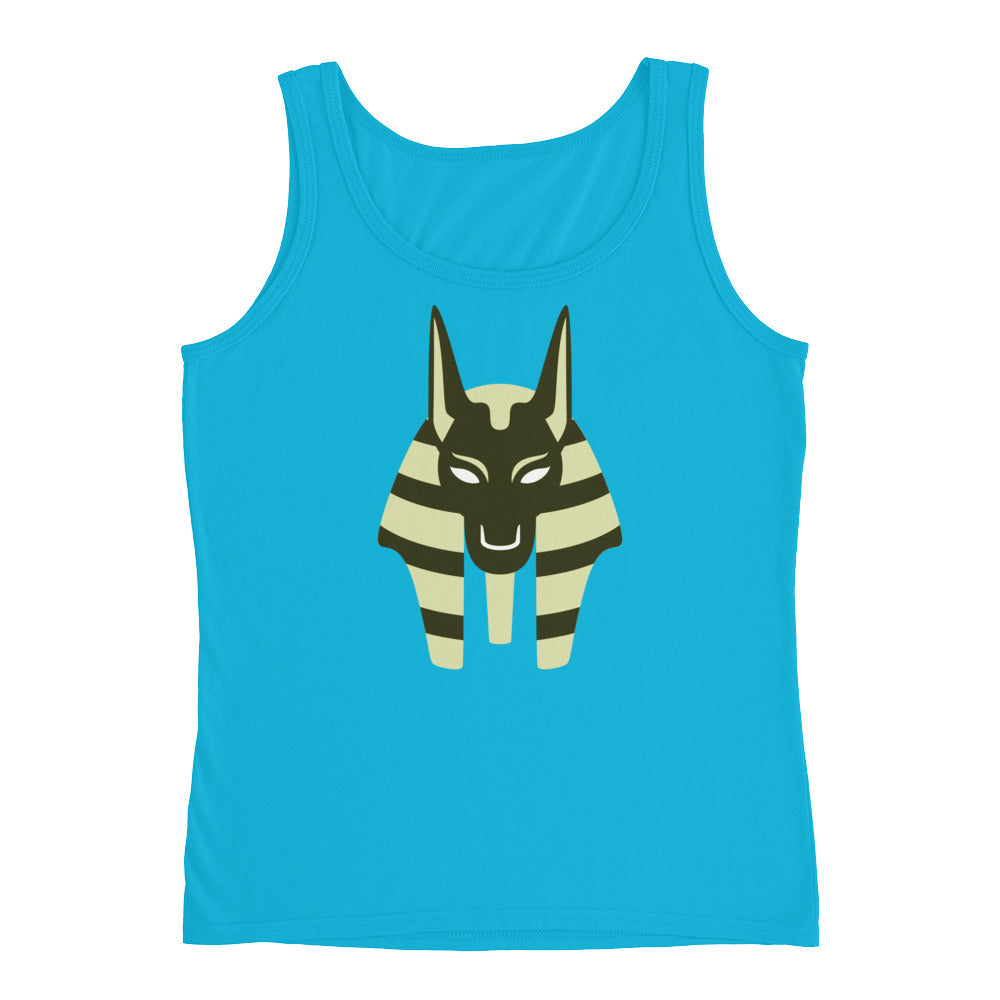 KarmaGear-T-Shirt Tank Top-Anubis-Cotton-For Women
