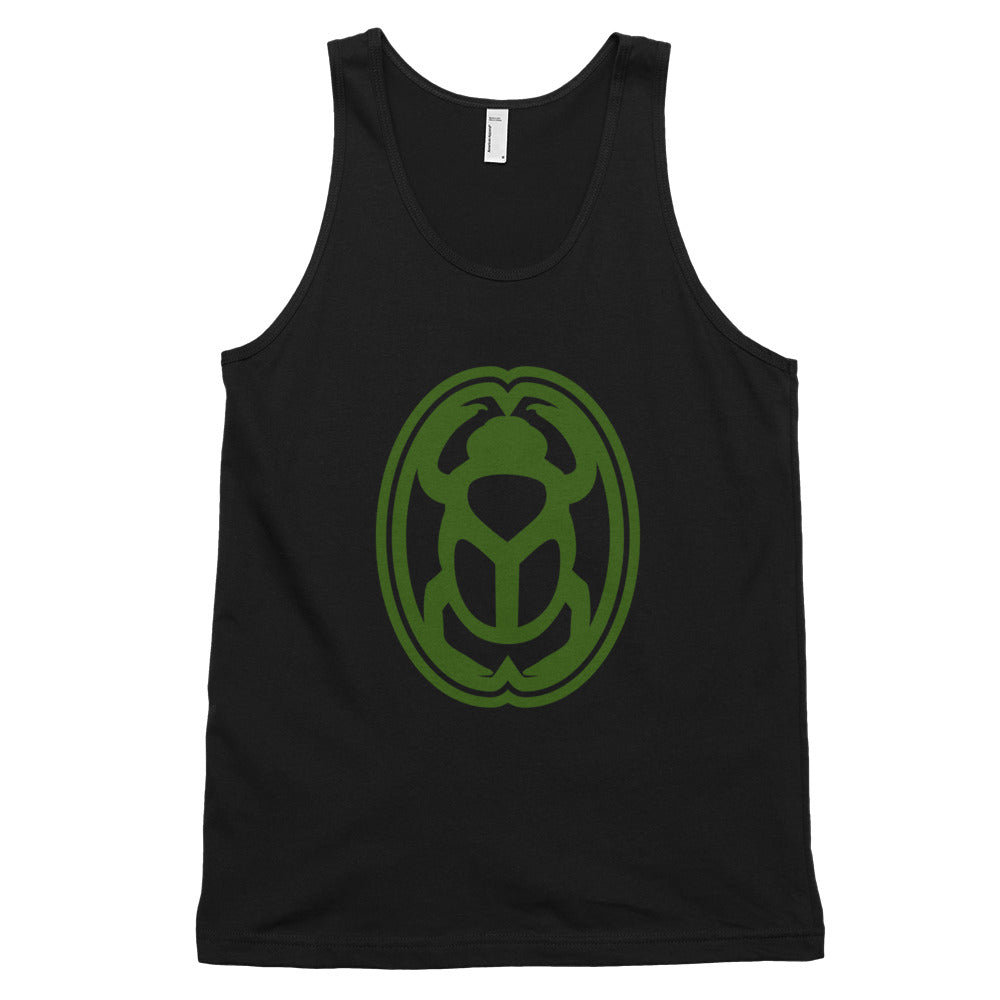 KarmaGear-T-Shirt Tank Top-Scarab-Cotton-For Men