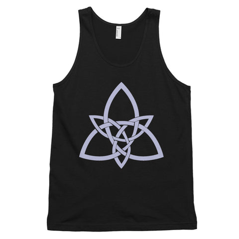 KarmaGear-T-Shirt Tank Top-Triquetra-Cotton-For Men