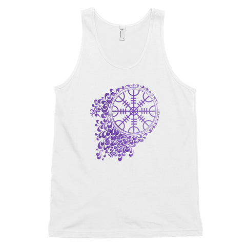 KarmaGear-T-Shirt Tank Top-Helm of Awe-Cotton-For Men