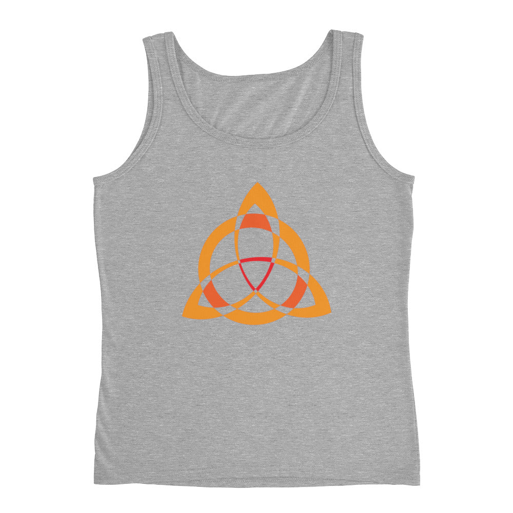 KarmaGear-T-Shirt Tank Top-Triquetra-Cotton-For Women