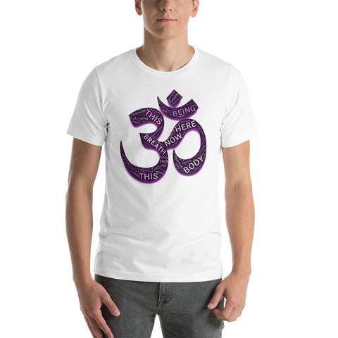 KarmaGear-T-Shirt-Om-Cotton-O-Neck-Short Sleeve -For Men