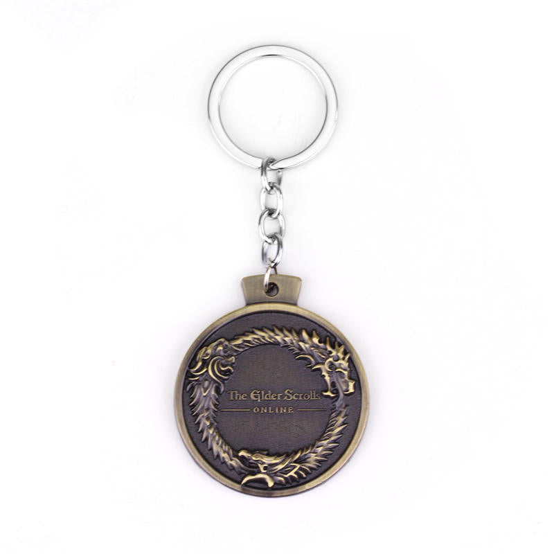 KarmaShine- Key Chain-Ouroboros-Bronze Plated