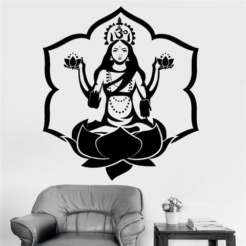 Home Wall Sticker-Om-Removable-Home Decor-14 Colors to Choose From - KarmaCraze