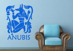 Home Wall Sticker-Anubis-Removable-Home Decor-3 Sizes - KarmaCraze