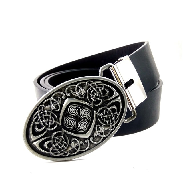 Belt & Buckle-Triquetra-9 Sizes - KarmaCraze