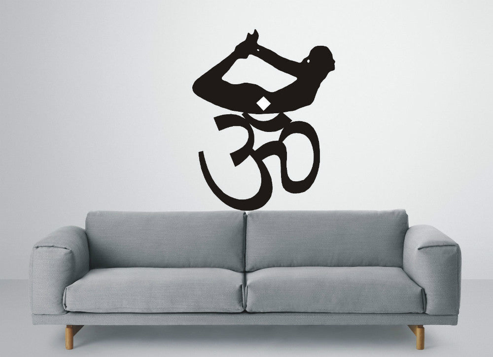 Home Wall Sticker-Om-Removable-Home Decor-4 Colors - KarmaCraze