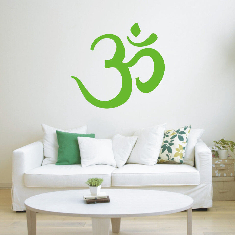 Home Wall Sticker-Om-Removable-Home Decor-3 Colors - KarmaCraze