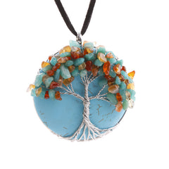 KarmaShine- Necklace-Tree of Life-Pendant-Rope Chain