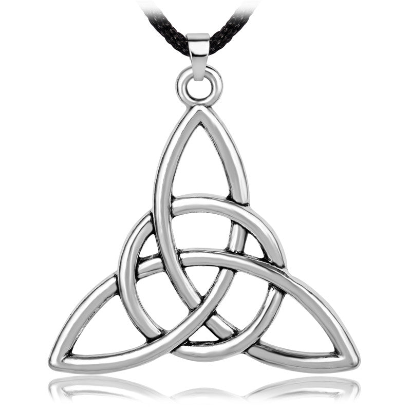 Necklace-Triquetra-Gold or Silver Color - KarmaCraze