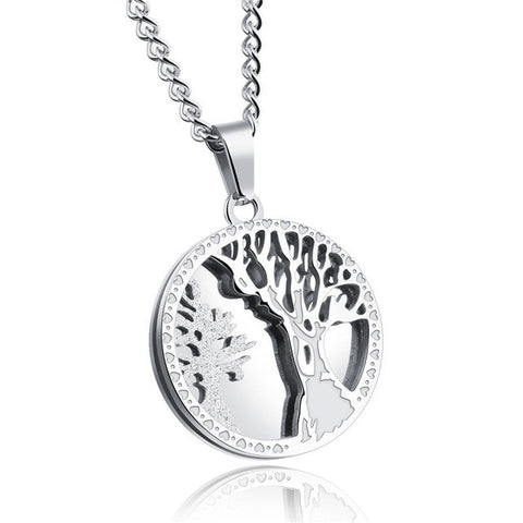 Necklace-Tree of Life-Stainless Steel - KarmaCraze