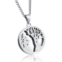 KarmaShine- Necklace-Tree of Life-Stainless Steel