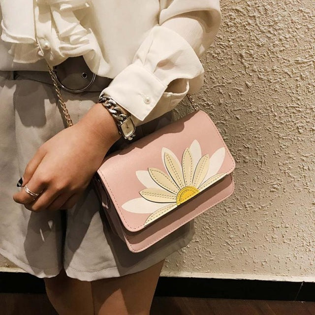 KarmaShine- Handbag-Lotus Flower-Crossbody-Shoulder Bag