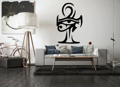 Home Wall Sticker-Eye of Horus-Ankh-Removable-Home Decor-15 Colors - KarmaCraze