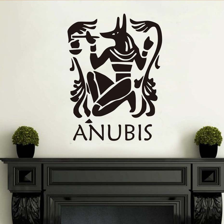 Home Wall Sticker-Anubis-Removable-Home Decor-10 Colors-2 Sizes - KarmaCraze