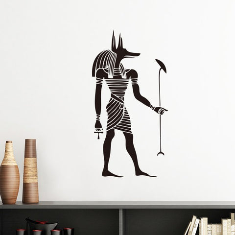 Home Wall Sticker-Anubis-Removable-Home Decor-11 Colors-3 Sizes - KarmaCraze