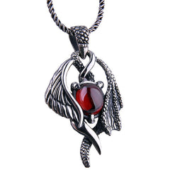 KarmaShine-Necklace-Isis Goddess-925 Sterling Thai Silver