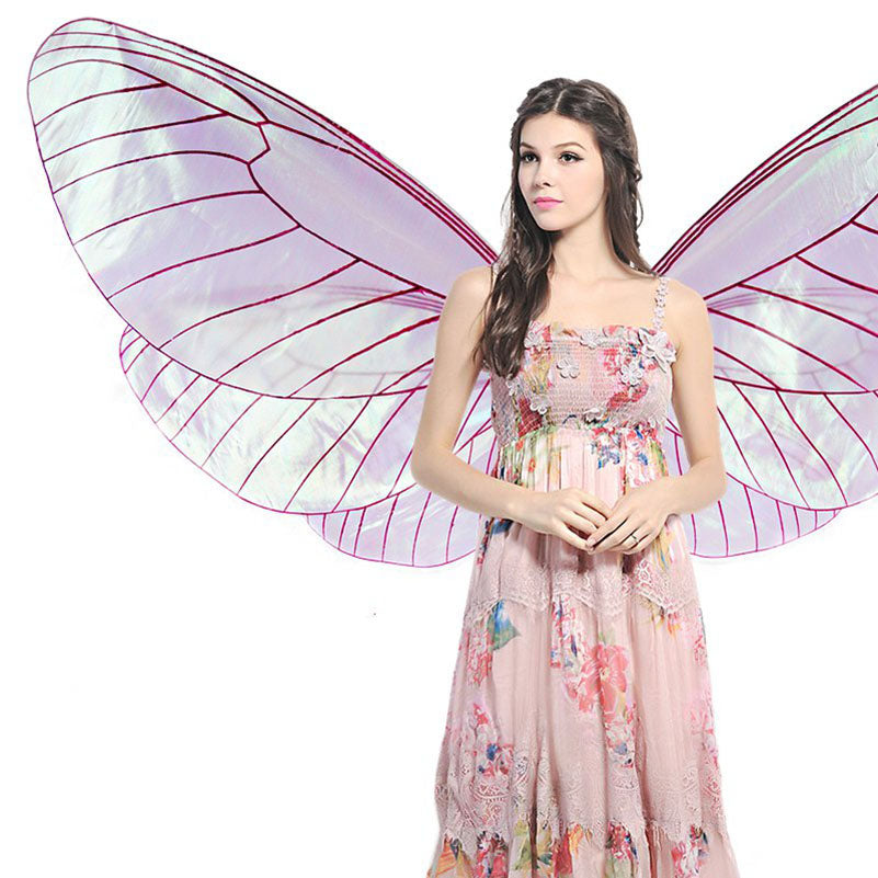 Halloween Costume-Isis Goddess-Transparent Wings - KarmaCraze