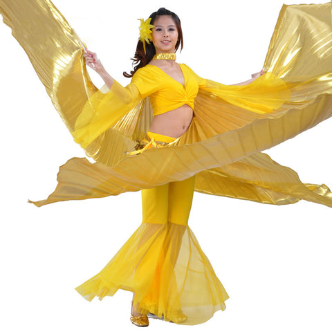 Halloween Costume-Isis Goddess-Gold Dance Costume - KarmaCraze