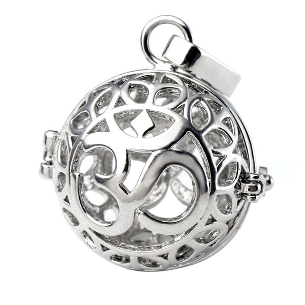 KarmaShine- Necklace-Om-Locket Pendant