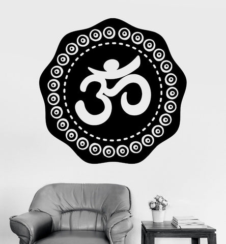 Home Wall Sticker-Om-Removable-Home Decor-4 Sizes - KarmaCraze