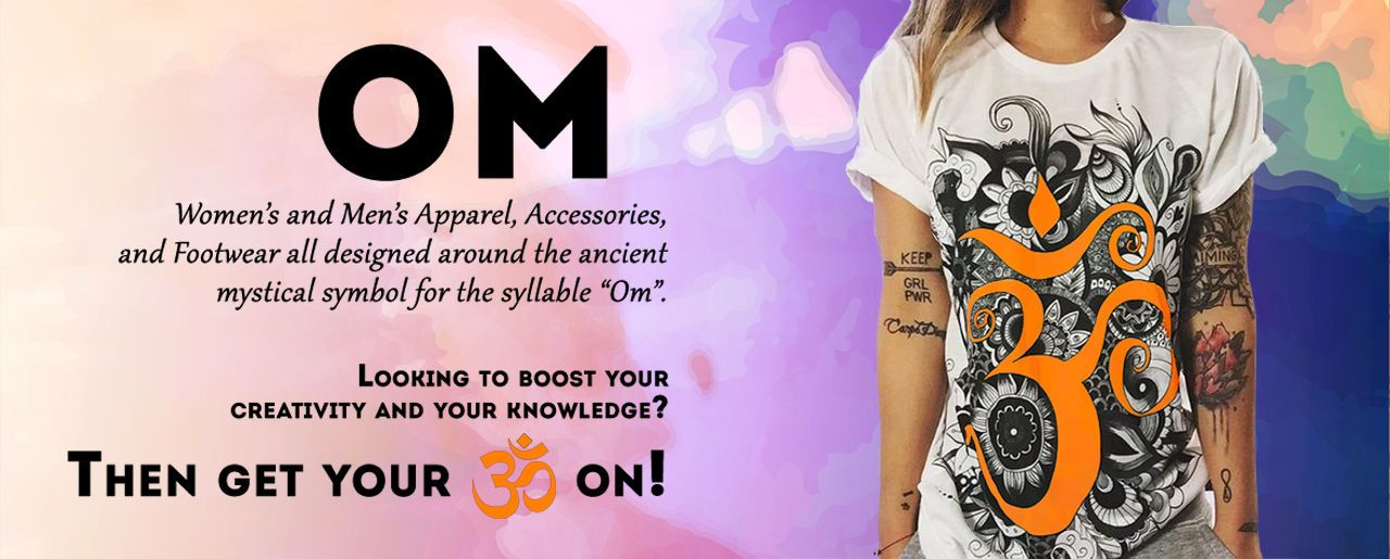 Om Apparel, Accessories, Footwear & Home Decor