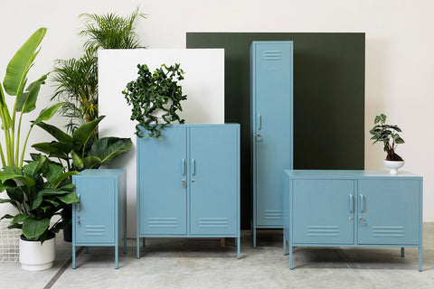 Mustard made lockers Ocean collection