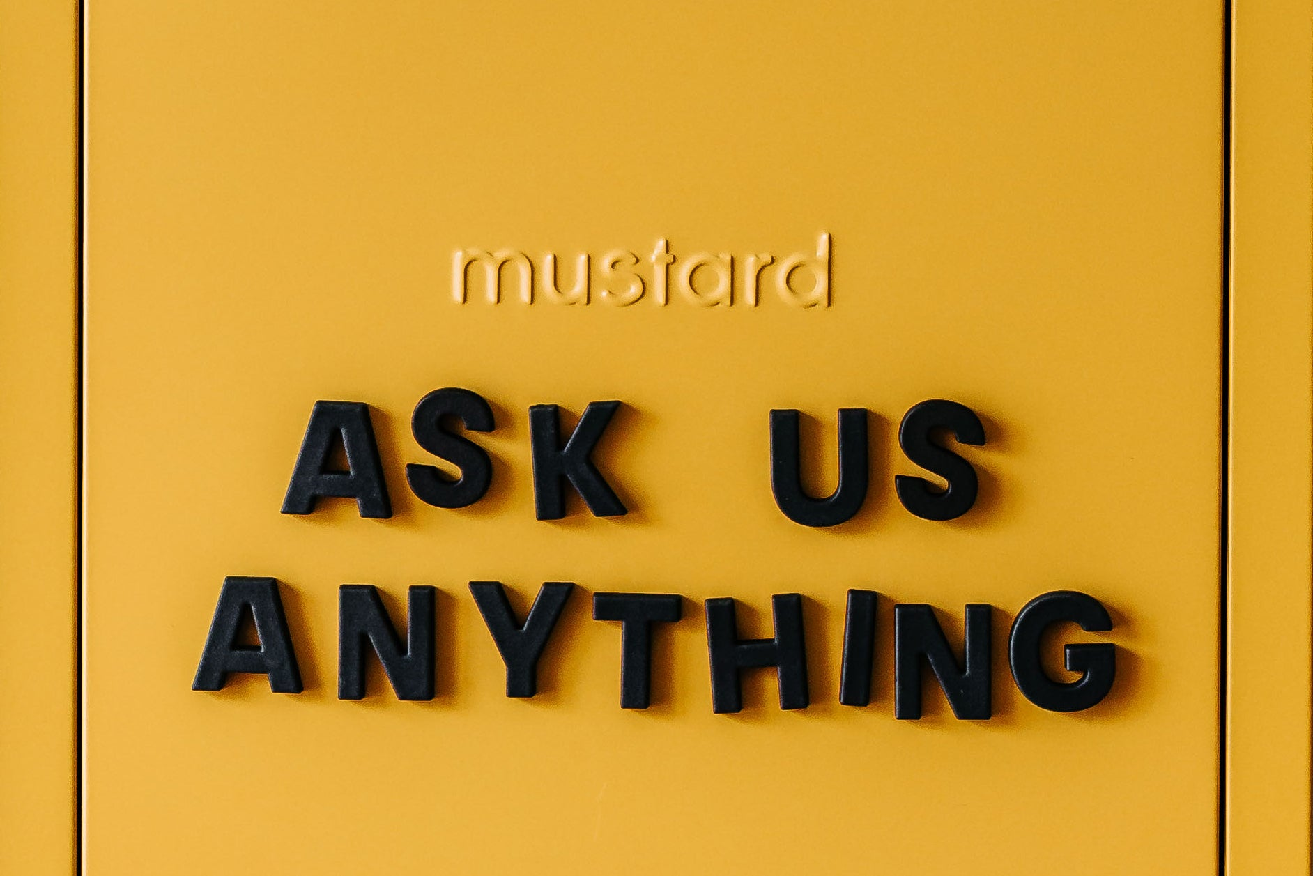 Mustard Made FAQ frequently asked questions