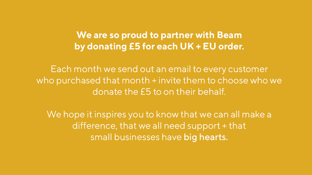 Mustard partners with Beam to help homeless people in need