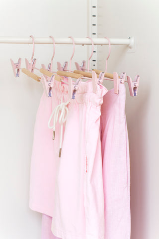 Adult Clip Hangers in Blush - Mustard Made Australia