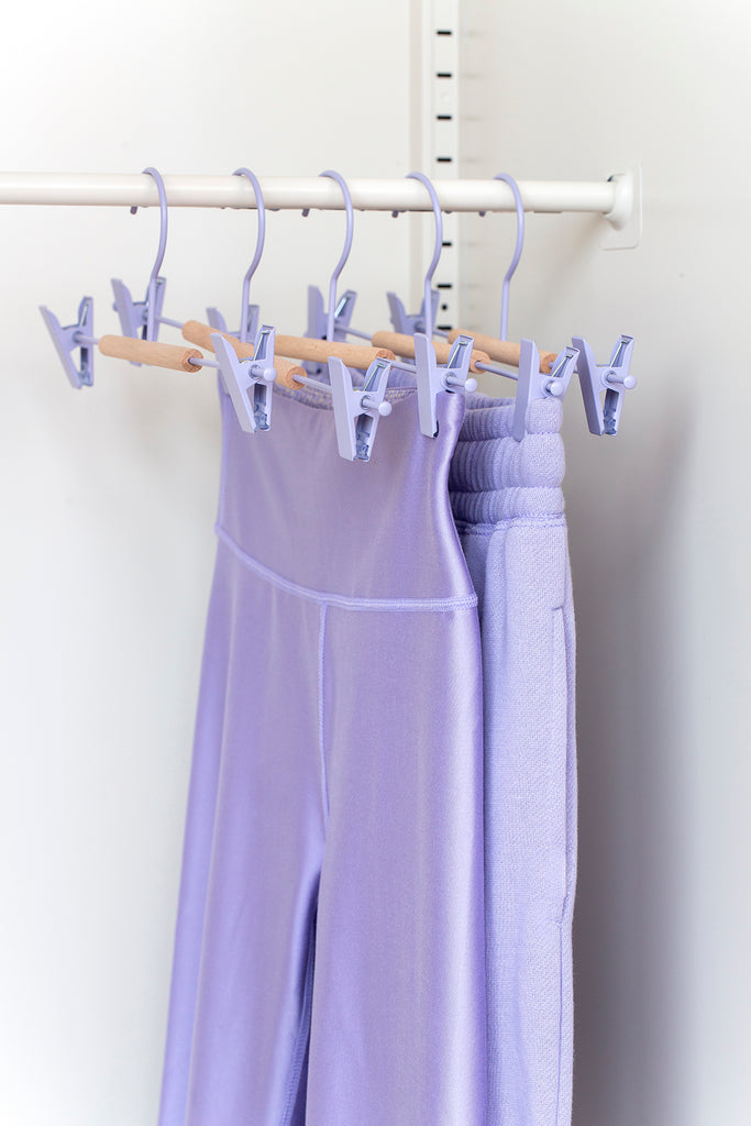 Adult Clip Hangers in Lilac - Mustard Made Australia