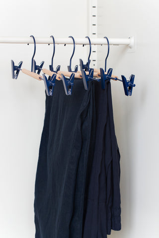 Adult Clip Hangers in Navy - Mustard Made Australia