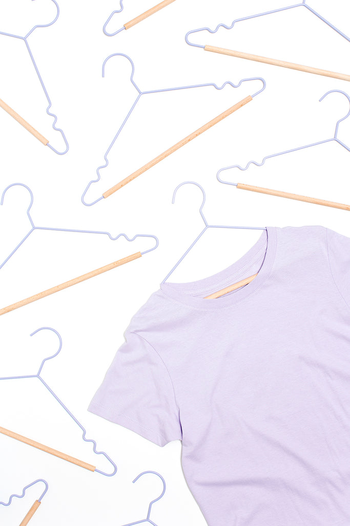 Adult Top Hangers in Lilac - Mustard Made Australia