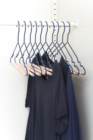 Adult Top Hangers in Navy - Mustard Made Australia
