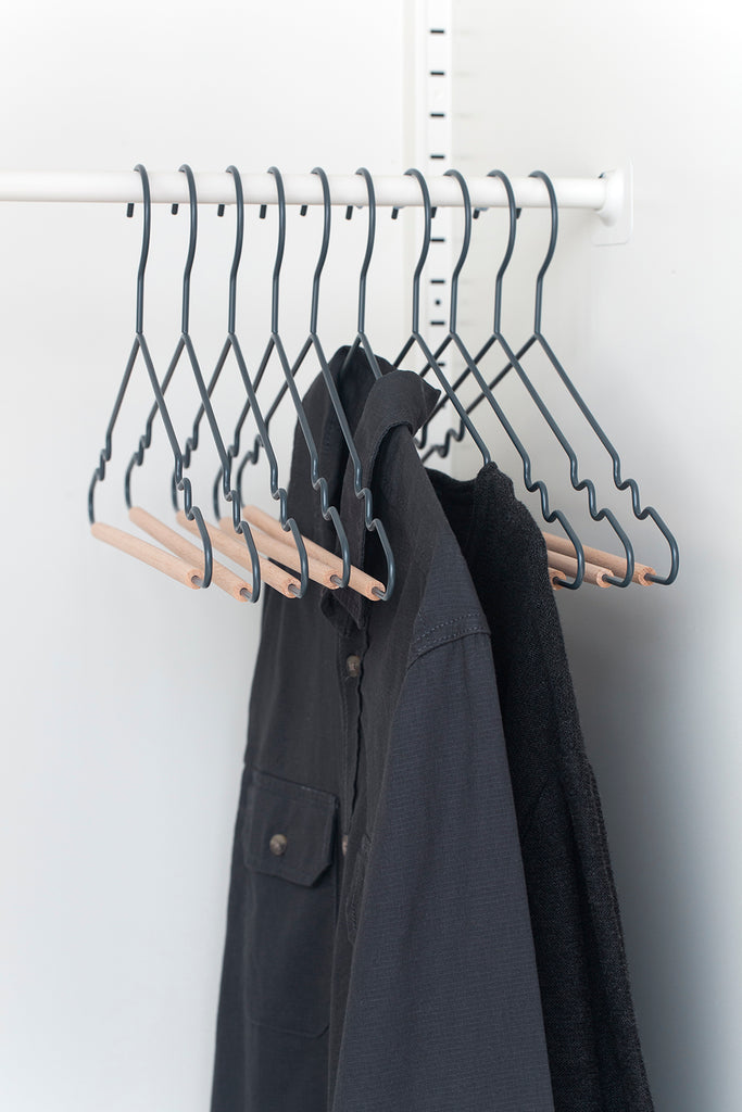 Adult Top Hangers in Slate - Mustard Made Australia