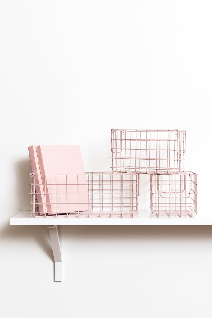 The Baskets in Blush - Mustard Made Australia
