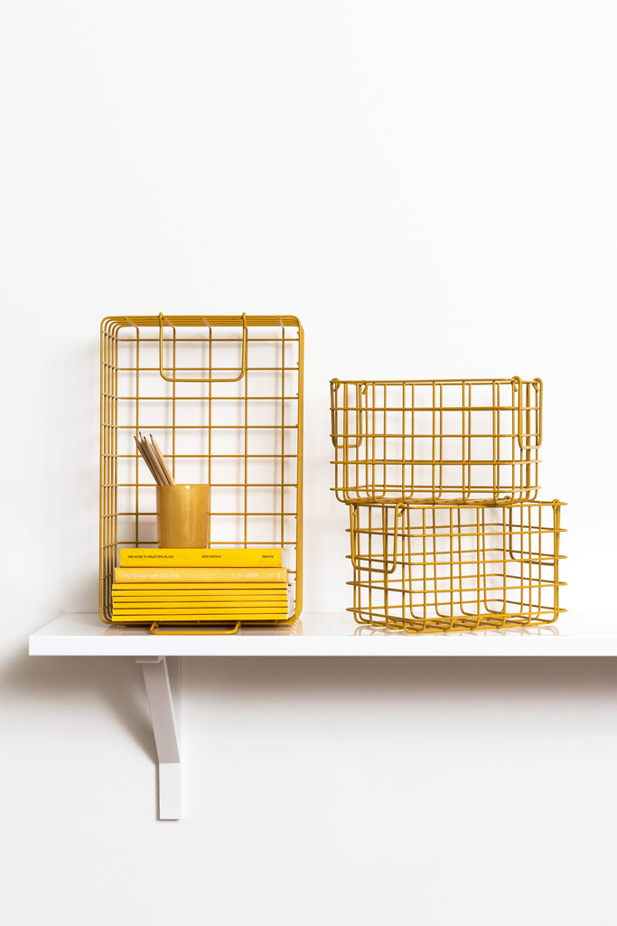 The Baskets in Mustard - Mustard Made