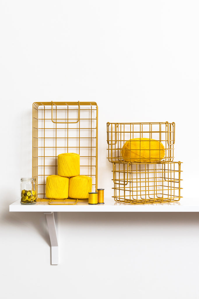 The Baskets in Mustard - Mustard Made Australia