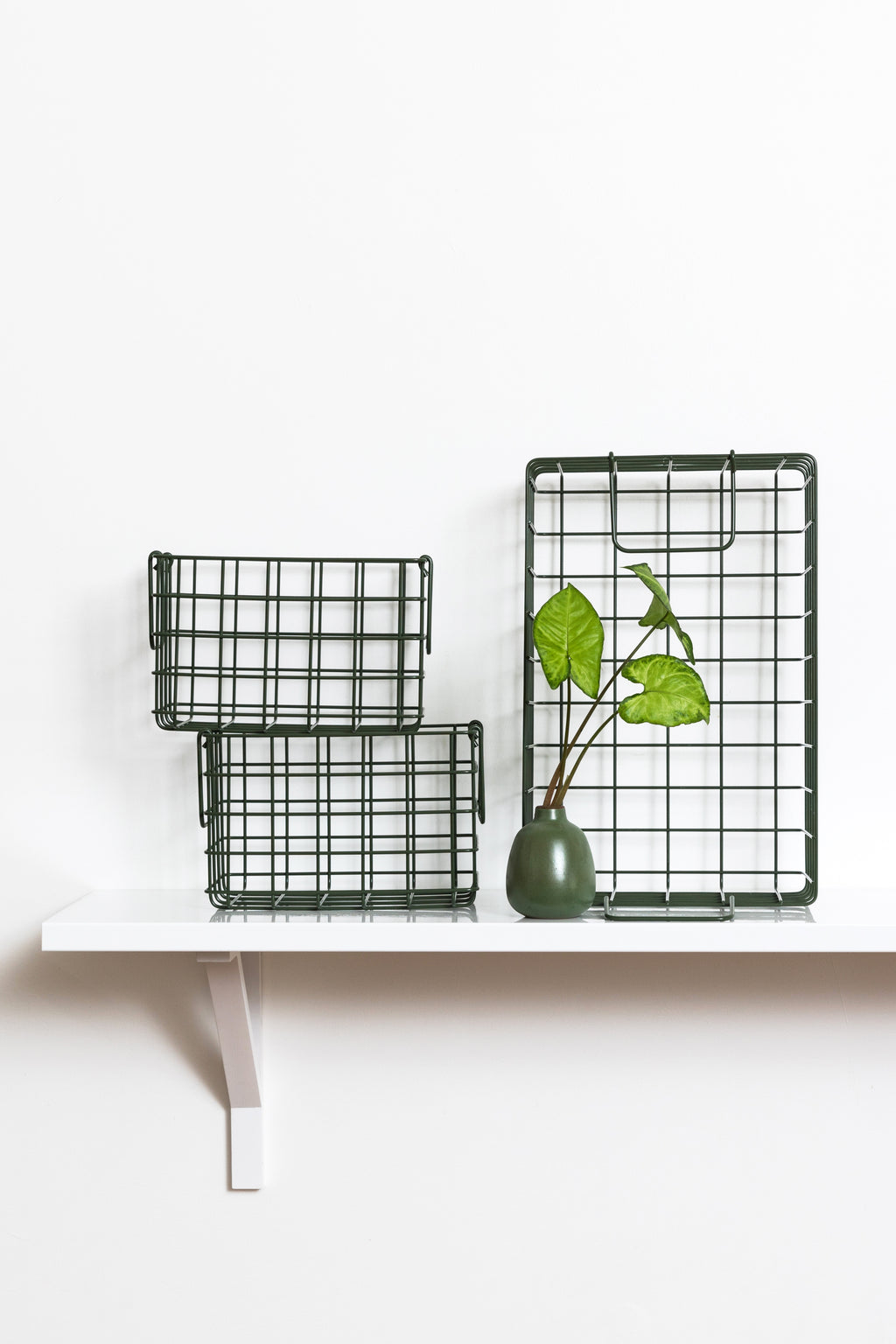 The Baskets in Olive - Mustard