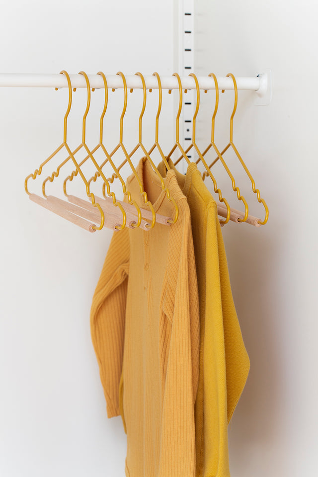 Kids Top Hangers in Mustard - Mustard Made Australia