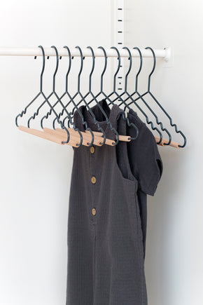 Kids Top Hangers in Slate - Mustard Made Australia