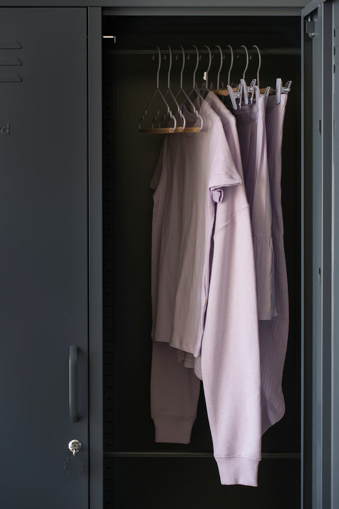 Kids Top Hangers in Lilac - Mustard Made Australia
