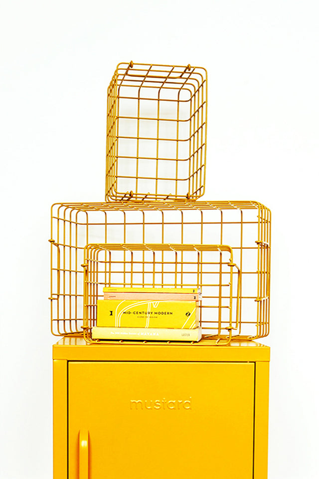 The Baskets in Mustard - Mustard - Locker