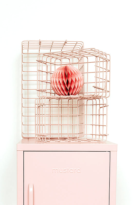The Baskets in Blush - Mustard