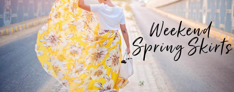 Weekend Spring Skirts For All Your Activities