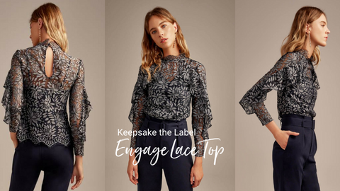 Engage Lace Top - Keepsake the Label