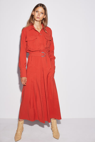 C/meo Collective - Explanatory Long Sleeve Dress - Lalabazaar