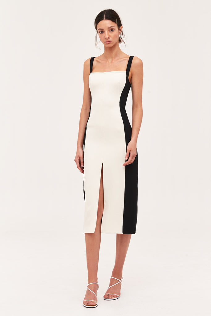C/meo Collective - Consumed Midi Dress - Lalabazaar
