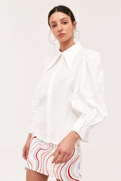 c/meo collective esteemed shirt white