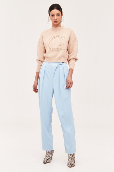 C/MEO COLLECTIVE - What we had knit jumper - beige marle
